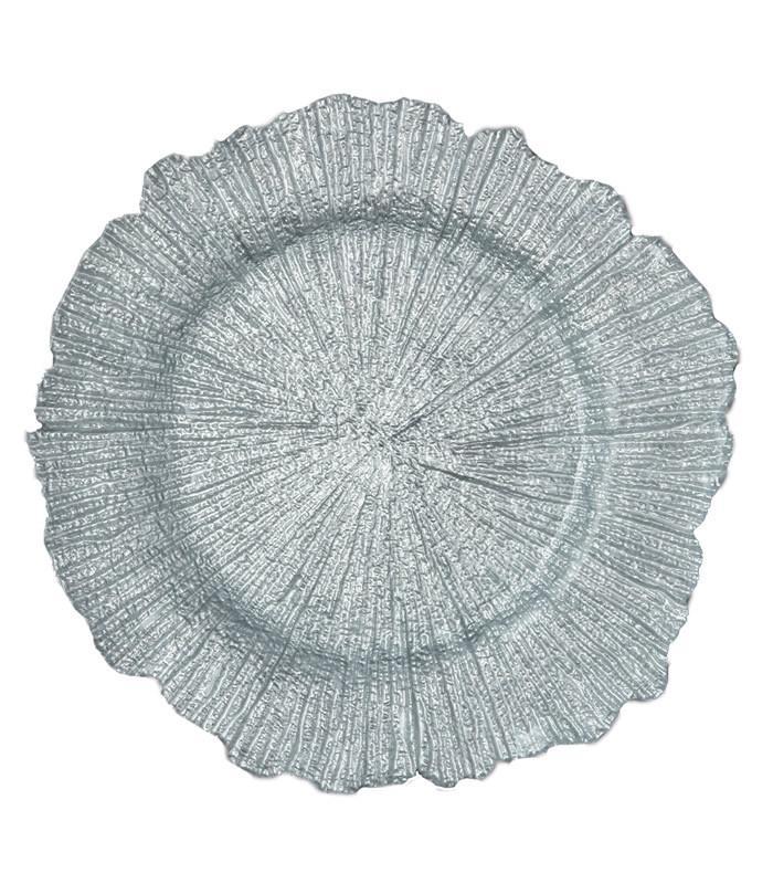Sea Sponge Glass Charger