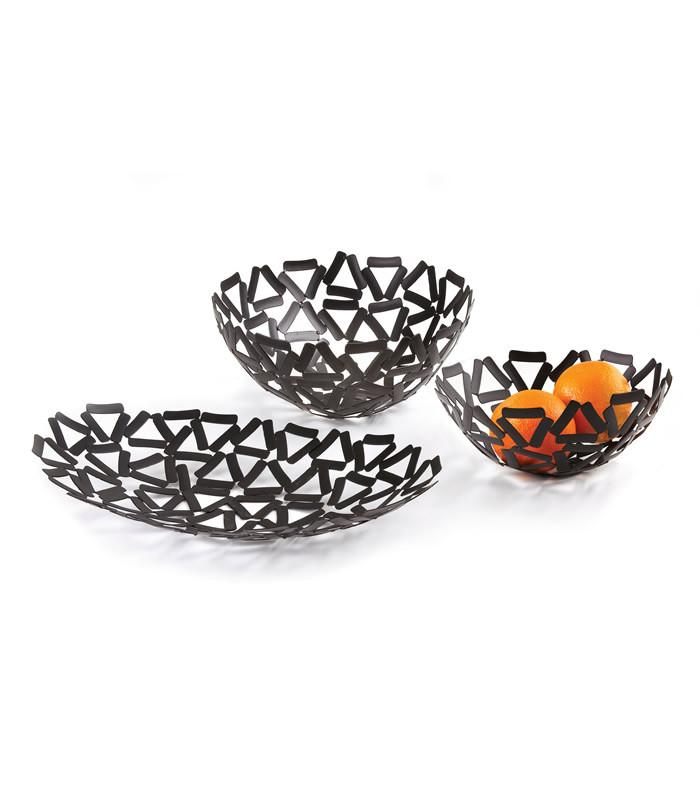 Black Bowl Set