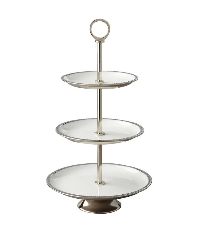 3 Tier Enameled Stand