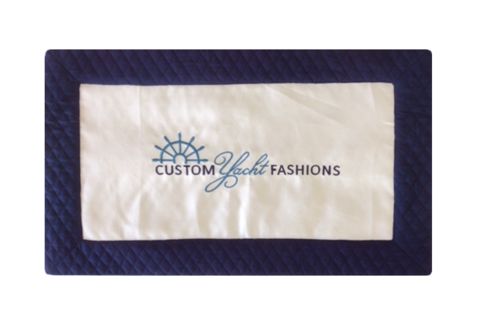 Quilted Cotton Back & Border W/ Faux Suede Center